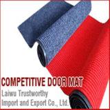 Esteiras de porta antiderrapantes impermeáveis da entrada com o PVC que suporta 50X80cm