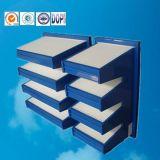 공기 청소와 정화를 위한 중간 Efficiencyv 은행 부대 필터