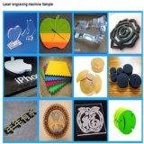 Laser-Ausschnitt und Gravierfräsmaschine für Gewebe-Ausschnitt, Schuhe materiell