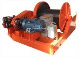 Draht-Zug-Handkurbel mit hydraulischer Bremse