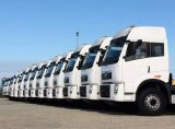 Faw 말 트럭 트랙터 420HP 견인 트럭