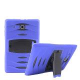 """3 in 1 Hochleistungsrüstungs-Gummireifen-Art TPU PC hartem Deckel-Fall für Samsung Tablette-Haut-Roboter-Deckel-Fall des Tabulator-Galaxie T110 7.0 """""""