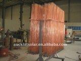 Sistema solar del colector del calentador de agua del tubo de U