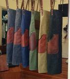 Kundenspezifische Qualität wuchs Segeltuch-Leder-Arbeits-Schutzblech für Männer ein