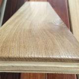 Revestimento de madeira projetado parquet do carvalho da venda por atacado 15-18mm
