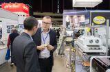 Benchtop Sicht-SMT Maschine, Ausstellung Russland-Radel stellte dar