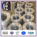 Bride ASME d'acier inoxydable de collet de soudure d'ajustage de précision de pipe