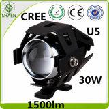 LED de la motocicleta impermeable de la iluminación U5 CREE 30W