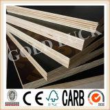 Preto dos materiais de construção/Brown/película vermelha madeira compensada Shuttering enfrentada