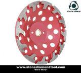 Конкретное меля T-Поделенное на сегменты колесо чашки