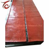 Gomma rossa di Htv del residuo della gomma di silicone della spugna
