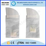 療養所の使用された使い捨て可能な尿袋