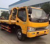 Mini carro de camión de auxilio plano del camino de JAC 4X2