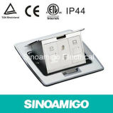 IP44 Ce TUV Raised Multifunction Floor Socket