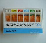 Punto di carta assorbente dentale dei punti/guttaperca di alta qualità (CE approvato)