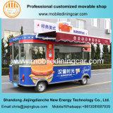 Jiejing подгоняло тележку быстро-приготовленное питания новой конструкции электрическую для сбывания