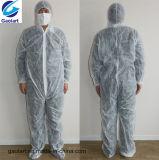 Uso non tessuto di Spunbond Coverall//Workwear/Overall per protezione di pulizia e della pittura