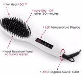Dampf-Haar-Strecker mit Pinsel-schneller Wärme bis bis maximalem 230c oder zu 450f, perlen Weiß