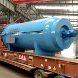 Vulcanizador de rolo de borracha de automação total Aprovado Cepa 2500X5000mm (SN-LHGR25)