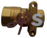 Латунный польностью Port шариковый клапан (никакая ручка)