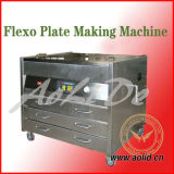 Machine de effectuer de plaque flexible