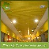 алюминиевые декоративные ложные плитки потолка дефлектора профиля 25W*80h для авиапорта