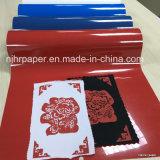 Пленка передачи тепла Inkjet бумажная/PU основала ширину винила 50 длин Cm 25 m для всей ткани