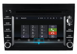 Отслежыватель GPS навигации GPS DVD-плеер автомобиля для Prosche Cayman/911