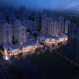 Projeto arquitectónico da rendição para a reconstrução da cidade velha