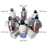 bottiglia di acqua di alluminio di sport di sublimazione della boccetta di vuoto di 400ml 600ml