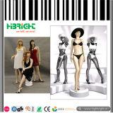 Mannequin femelle abstrait de mode