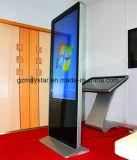 3G WiFi 가득 차있는 HD 접촉 스크린 간이 건축물을 광고하는 55 인치