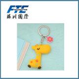 PVC Keychain/пластичный кремний Keychain цепи/таможни выдвиженческих подарков резиновый ключевой