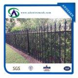 溶接された鋼鉄塀/融合の装飾用の溶接された美の鋼鉄塀