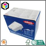 Rectángulo de empaquetado a todo color de encargo del papel acanalado de la impresión para la electrónica