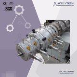 Cadena de producción plástica del tubo de la protuberancia Machine/HDPE del tubo