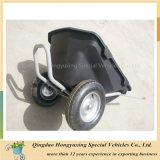 園芸工具のプラスチック皿の手押し車Wb8626