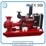 Mobile Dieselmotor-entwässernwasser-Pumpe