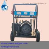 Máquina de processamento de pedra do jato de água do líquido de limpeza de alta pressão