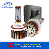2016 보편적인 LED Headlight 8~48V 3000/3600lm 6000k Wholesales H1 H3 H7 H11 H13 9004 9005 9006 9007