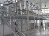 Réservoir de mélange industriel en émulsion d'aspiration en acier inoxydable
