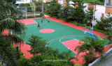 Il PVC esterno mette in mostra la pavimentazione/il pavimento sport di volano