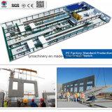 Cadena de producción de los componentes de la construcción de Tianyi paredes interiores prefabricadas de la máquina