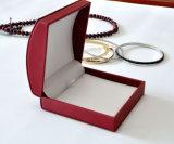 Кожаный коробка подарка упаковки ювелирных изделий коробки хранения ювелирных изделий бархата (YS95)