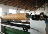 Maquinaria que lamina del PVC del panel de aluminio lateral doble de la carpintería