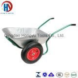 Carrinho de mão de roda Wb6211 chapeado zinco com roda dobro