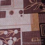 Tissu de polyester teint par filé de Chenille de jacquard pour le sofa
