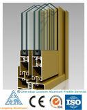 6061, 6063 expulsou o perfil de alumínio para a parede de cortina de vidro
