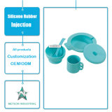 Modelagem por injeção diária personalizada do silicone do Kitchenware dos utensílios de mesa do uso dos produtos do silicone do produto comestível