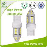 T20 escogen la luz auto de la lámpara blanca LED de la vuelta de la viga 150W